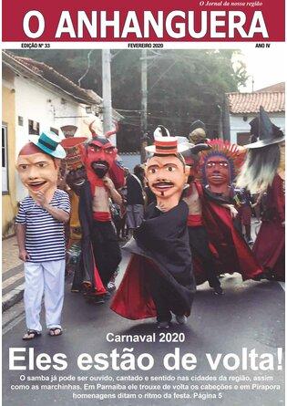 Jornal O Anhanguera - Edição de Fevereiro de 2020